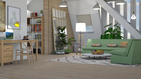 M_ Cecilia - Living room  - by milyca8