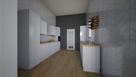 MONOK p3 kitchen - Kitchen  - by Paulinaklon