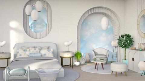 soft blury bedroom - Bedroom  - by Moonpearl