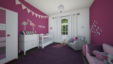 little Amelia - Kids room  - by evelyn19