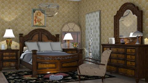 M_ Art Nouveau - Bedroom  - by milyca8