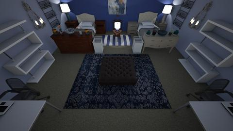 Leyla and Kira - Bedroom  - by Rsvo64