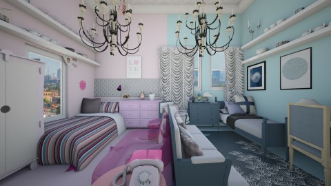 2 tasters - Classic - Bedroom - by Evangeline_The_Unicorn