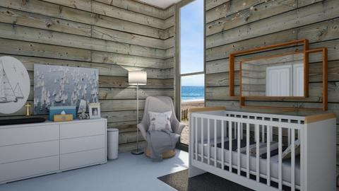nauticalnursery - Kids room  - by rosej