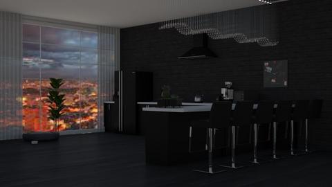 challenge 6 - Modern - Kitchen - by molly_designs