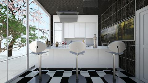 Kitchen Laura - Vintage - Dining room  - by Boka i Deki