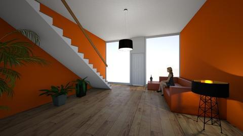 Autumn room2 - Bedroom  - by gamewiner