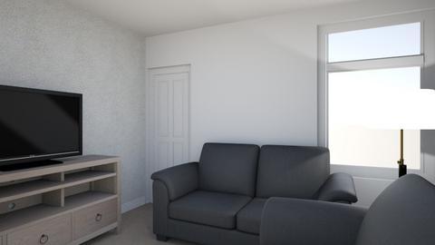 Claremont Des Res - Living room  - by Bleachie