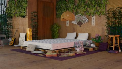 feng shui bedroom - by nitya_avvari