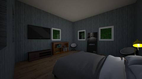 The guest roomANEwish - Modern - Bedroom  - by marcusb29598