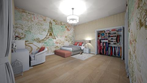 family home 154 - Modern - Bedroom  - by Stavroula Chatzina