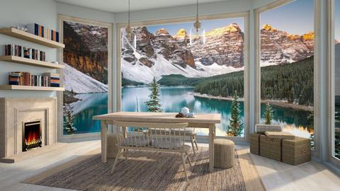 Scandinavian - Dining room  - by daydreamer84
