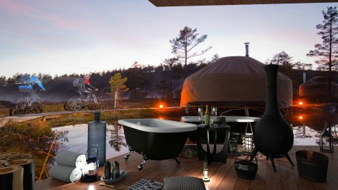 Norway Yurt Hotel - Country - by ZsuzsannaCs