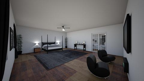 corner 1 - Modern - Bedroom  - by Kahmya_23