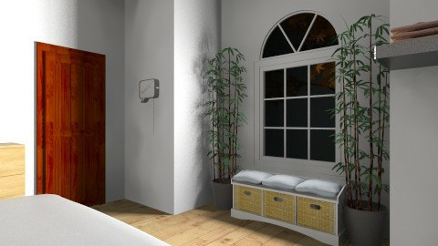 Nature wiew bedroom - Bedroom - by paola2804