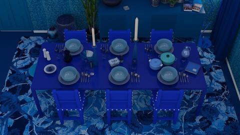 BLUE - Modern - Dining room  - by HenkRetro1960