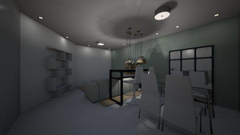 Nadiia Shmorgai - Living room  - by Nadiia Shmorgai