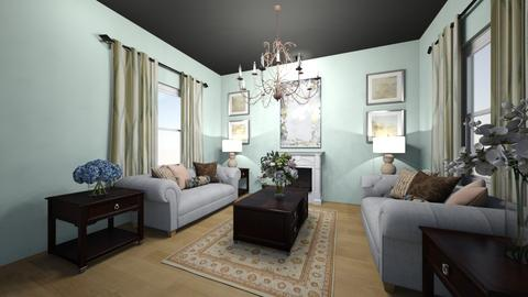 Cottage Living Room - Classic - Living room  - by Cat_J