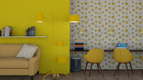 Yellow office 2 - Office  - by Nantha