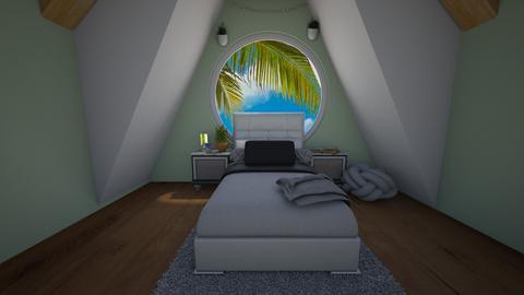 Outdoor Attic Bedroom - Bedroom  - by SaraL4472