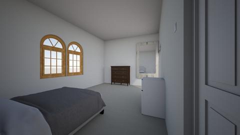 BrysonsRoom1  - Modern - Bedroom  - by bcrawford04