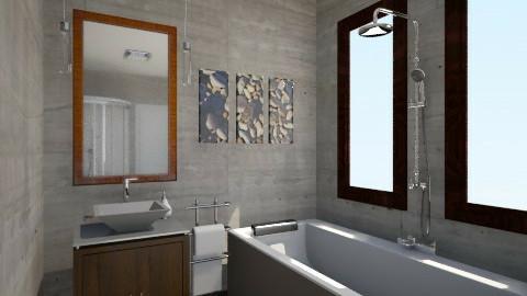 bath - Modern - Bathroom - by gyorevera