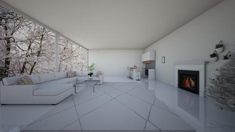 Beyaz Ev - Living room  - by cagla_deniz_