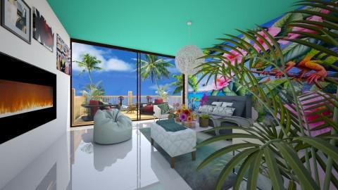 Cool For The Summer - Modern - Living room  - by bgref
