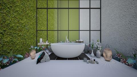 Lily bathroom - Bathroom  - by karisahsalim
