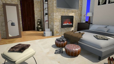 Hotels Room 214 - Modern - Bedroom  - by anjuska9