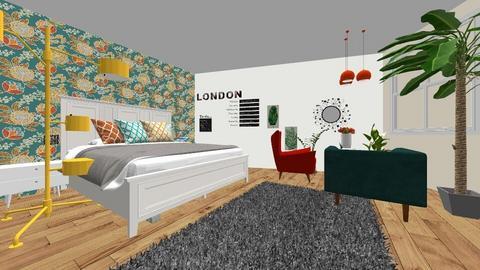 sypialnia 1 - Bedroom - by Martyna D