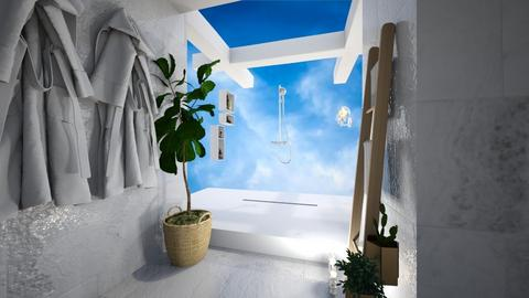 island bathroom - Bathroom  - by denizoden