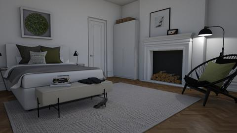 Minimalist - Bedroom  - by Thrud45