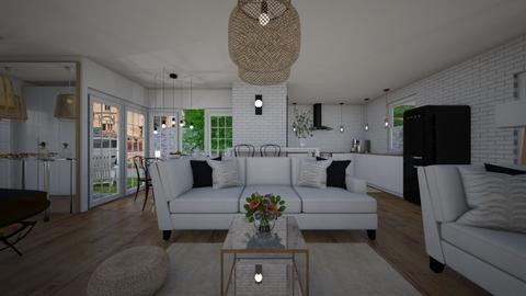 ModernVintage_Living - Living room  - by lovasemoke