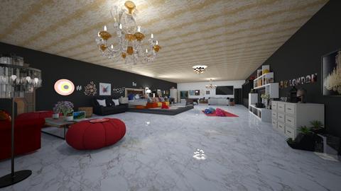 Dream Room - Modern - Bedroom - by Ravina_9069