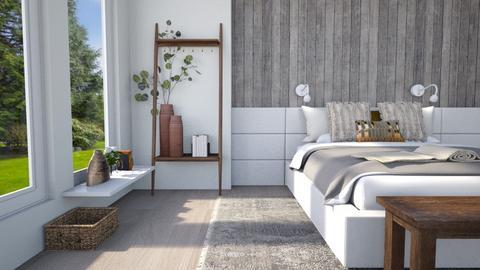 Wooden Wall Bedroom  - Bedroom  - by smhewitt