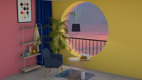 __ - Living room - by mariazurkan