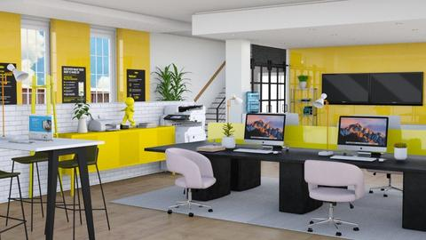Things are Yellow - Office  - by dominicjames