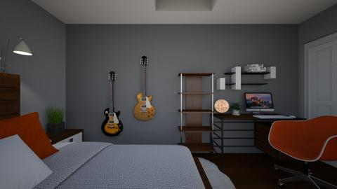 z new room - Bedroom  - by sram