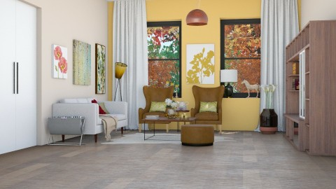 Living room Jesen - Eclectic - Living room  - by Annathea