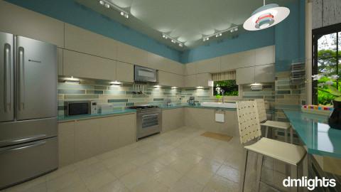 Sandy Blue - Kitchen  - by Lackew