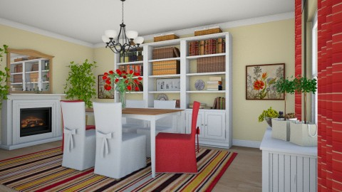 For heyjoshday - Country - Dining room  - by Theadora