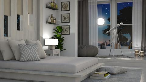 Night Sky Bedroom - Bedroom  - by bigmama14