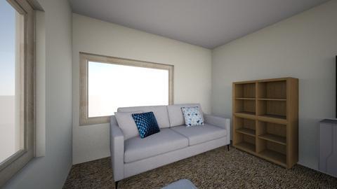 current living room - Living room  - by SSommerman