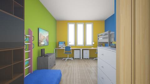 my room - Kids room  - by vania14122007