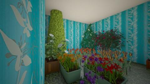 jhj - Retro - Garden - by khemika meekaew