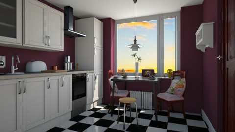 por do sol - Vintage - Kitchen  - by Brubs Schmitt
