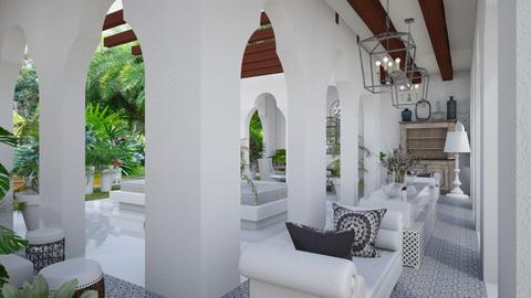 Moroccan Hallway 4 - by Fofinha
