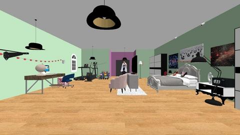 Girl  - Modern - Bedroom  - by Madi_with_a_I