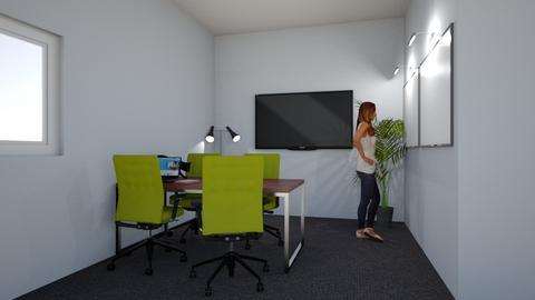 Dev Room Office Corner - Modern - Office  - by erinmclaughlin
